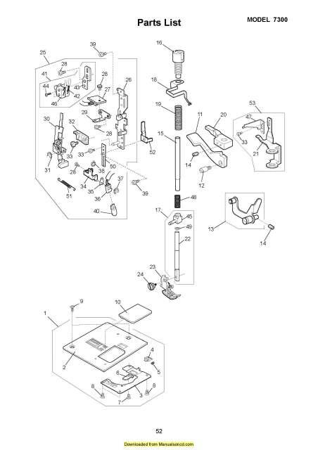 Elna 7300 Pro Quilting Queen Sewing Machine Service Manual