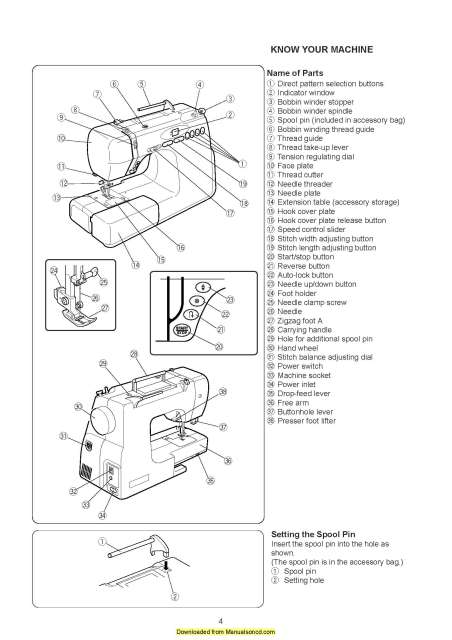 Elna Star Edition Sewing Machine Instruction Manual