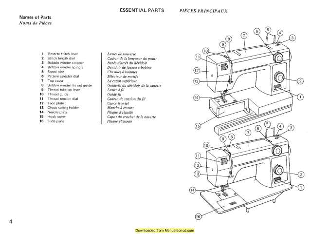 Janome 344 Sewing Machine Instruction Manual
