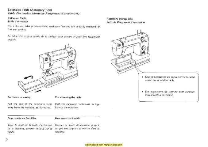 Janome 344 Sewing Machine Instruction Manual