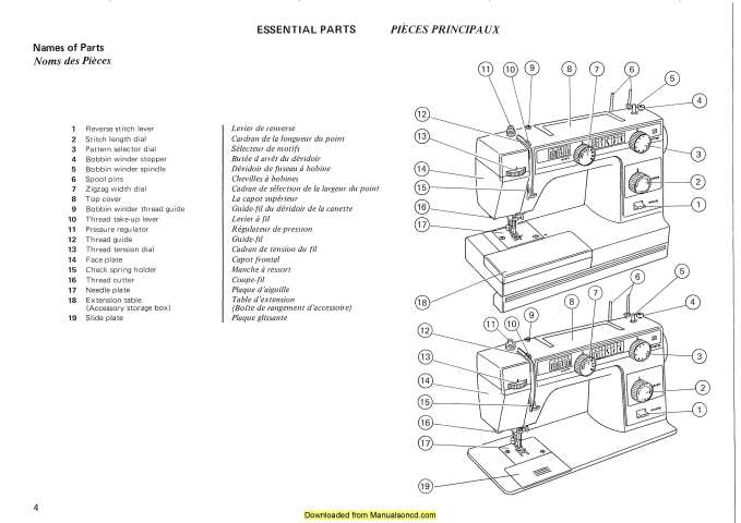 Janome 366-367 Sewing Machine Instruction Manual