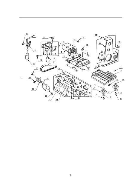 Janome 204D MyLock Sewing Machine Service Manual