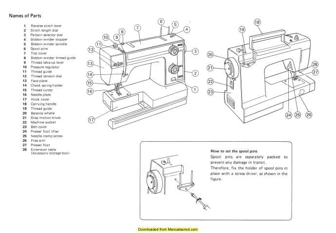 New Home 300 Sewing Machine Instruction Manual