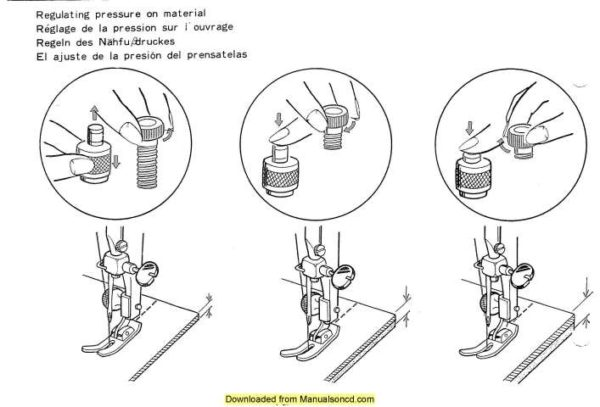 Janome 132 Sewing Machine Instruction Manual