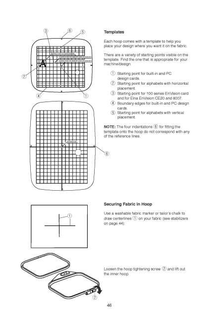 Elna 820 Expressive Sewing Machine Instruction Manual Elna
