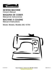 Kenmore Instruction Manuals