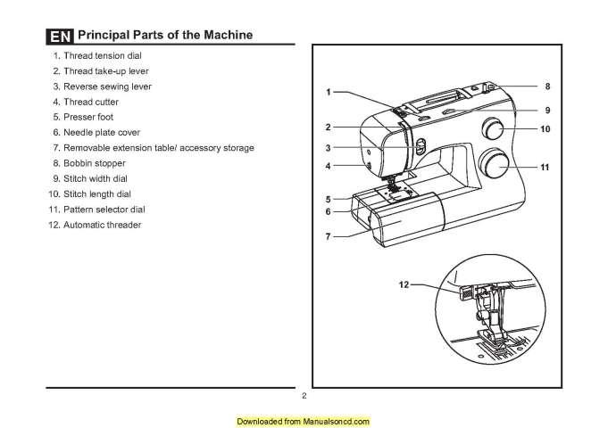 Singer 3321 Sewing Machine Instruction Manual