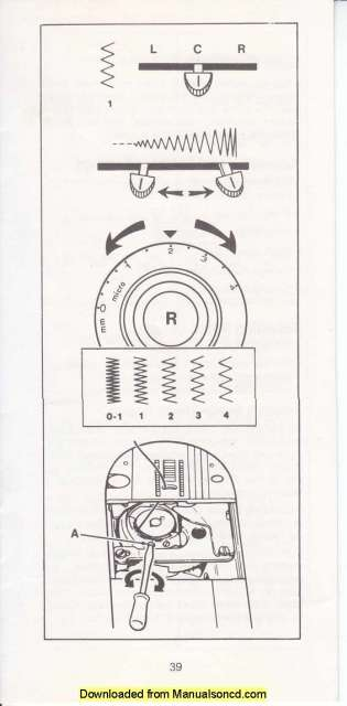 Singer 2404 Merritt Sewing Machine Instruction Manual