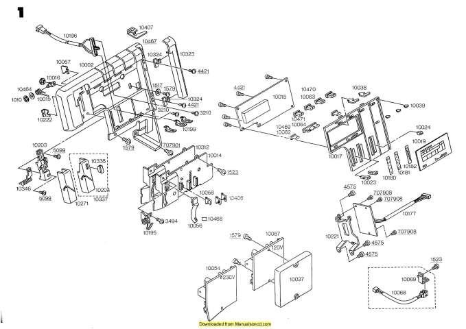 Elna 904DCX-905DCX Sewing Machine Service-Parts Manual