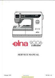 Elna Parts Manuals