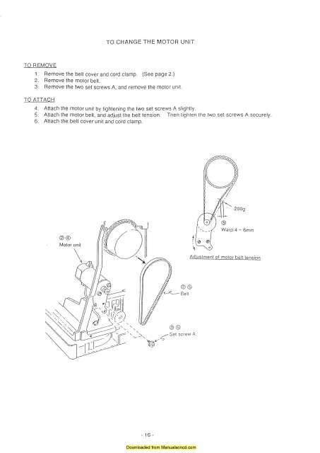 Elna 9006 Envision Sewing Machine Service-Parts Manual