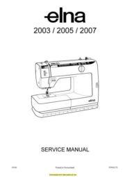 Elna Service Manuals