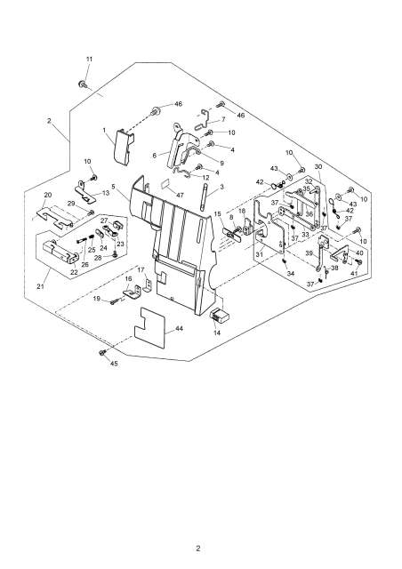 Janome MyLock 734D Serger Sewing Machine Service-Parts Manual