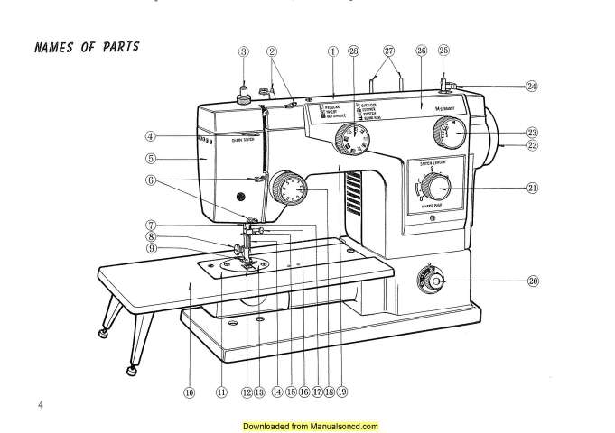 New Home 611 Sewing Machine Instruction Manual