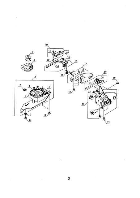Elna CE20 EnVision Sewing Machine Service-Parts Manual