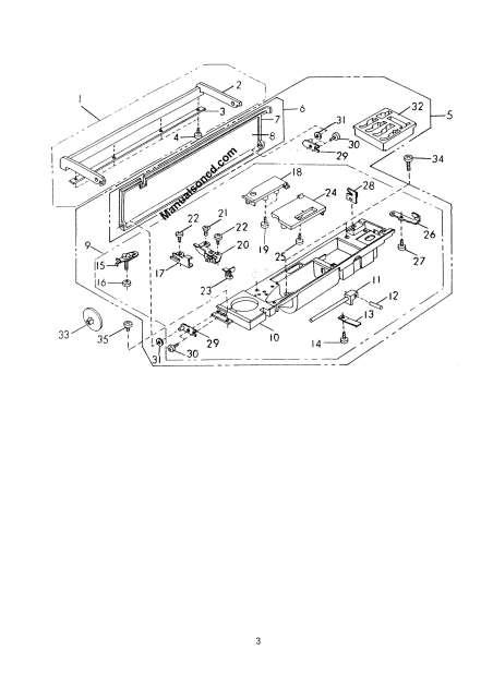 Janome 8000 Memory Craft Sewing Machine Service-Parts Manual