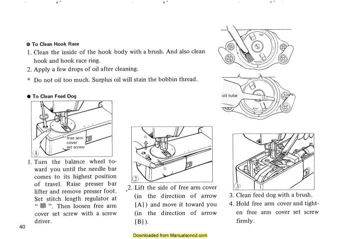 New Home 628 Sewing Machine Instruction Manual