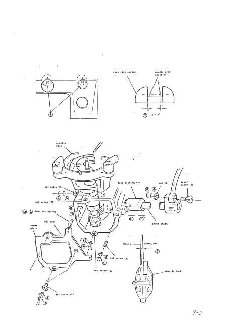 New Home 632 Sewing Machine Service-Parts Manual