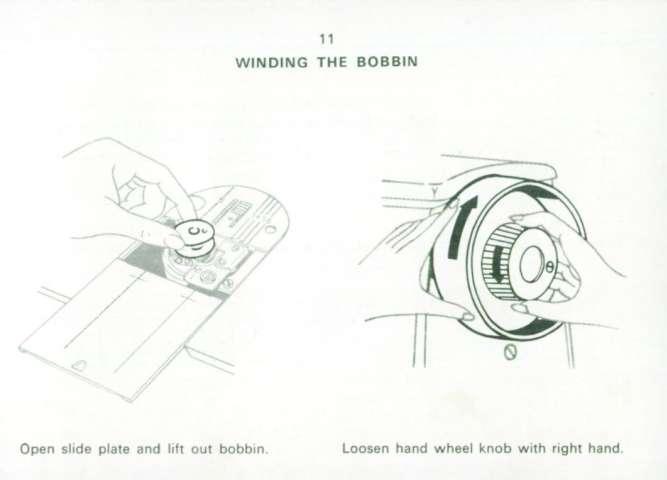 Singer 449 Sewing Machine Instruction Manual