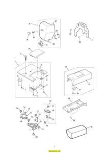 Janome MC300E Sewing Machine Service-Parts Manual
