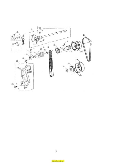 Janome 3000 Memory Craft Sewing Machine Service-Parts Manual