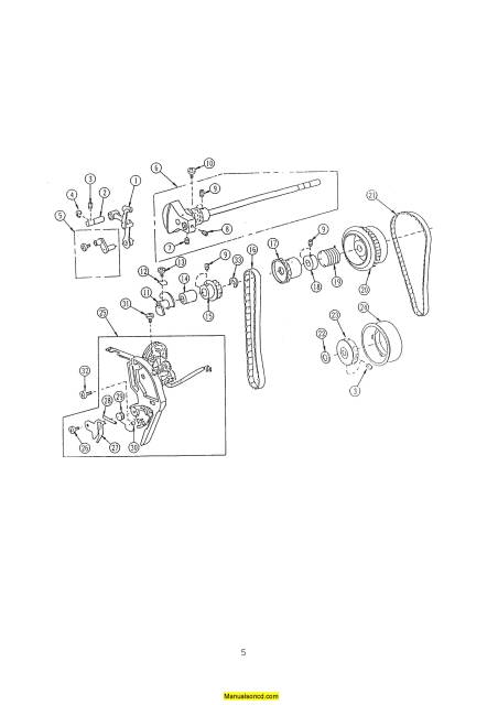 Janome 4000 Memory Craft Sewing Machine Service-Parts Manual