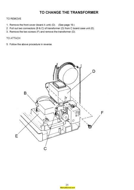 Janome 5700 Memory Craft Sewing Machine Service-Parts Manual