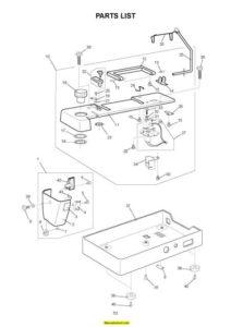 Janome 6600 Memory Craft Sewing Machine Service-Parts Manual