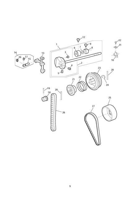 Janome 9500 Memory Craft Sewing Machine Service-Parts Manual