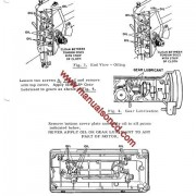 Singer 327K And 328K Sewing Machine Service Manual