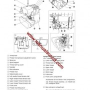 Brother 5234 Sewing Machine Instruction Manual Overlock
