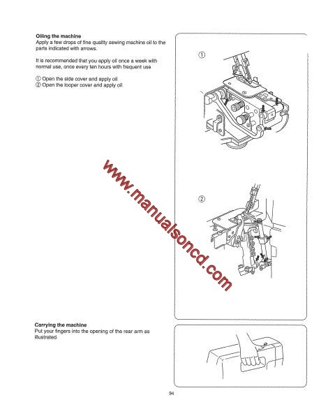 Kenmore Model 385.16622 OverLock Sewing Machine Manual