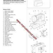 Kenmore 385.19112 Sewing Machine Instruction Manual