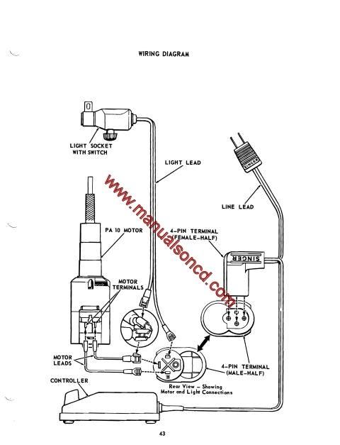 bernina sewing wiring diagram