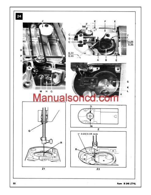 elna sewing machine parts diagram mgf wiring singer 353-354 genie service manual