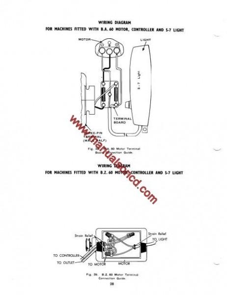 Singer 193M-194M-227M-228M Sewing Machine Service Manual