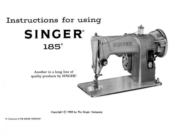 Singer Threading Diagram