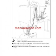 Pfaff 1295 And Pfaff 1296 Sewing Machine Instruction Manual