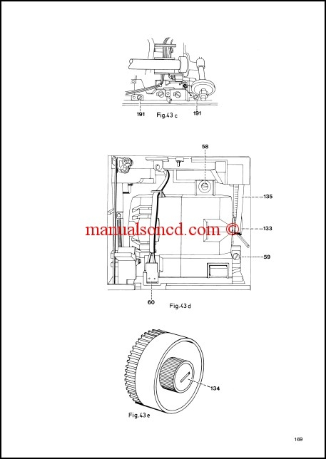 Pfaff 905-1171 Sewing Machine Service Manual