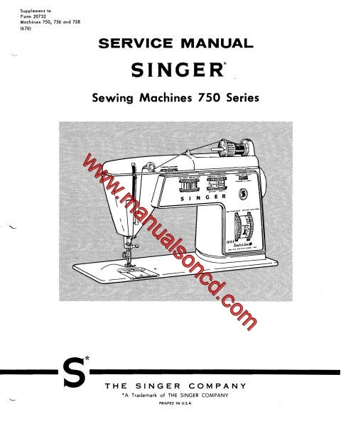 elna sewing machine parts diagram off road lights wiring singer 750 service manual repairs lists