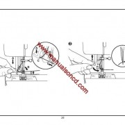 Euro-pro 8260 Sewing Machine Instruction Manual