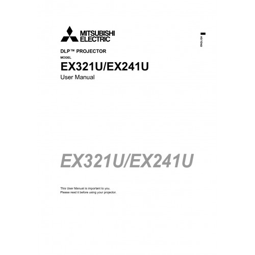Mitsubishi Electric EX321U User Guide Manual Download