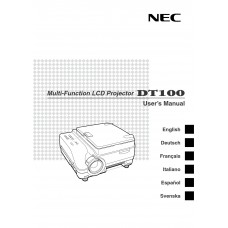 NEC Projector Manuals and review