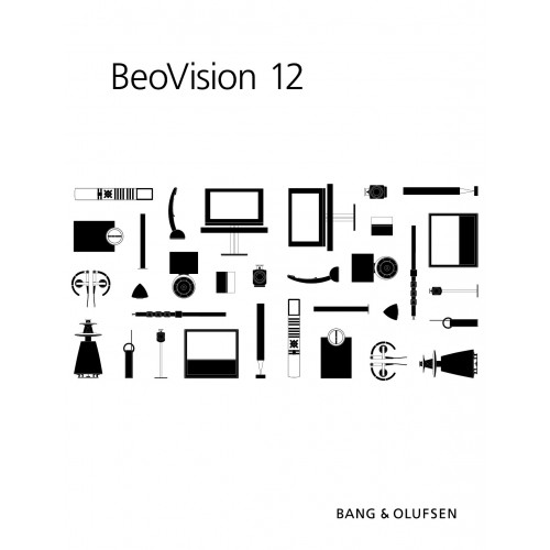 Bang & Olufsen BeoVision 12-65 Plasma Monitor User Guide