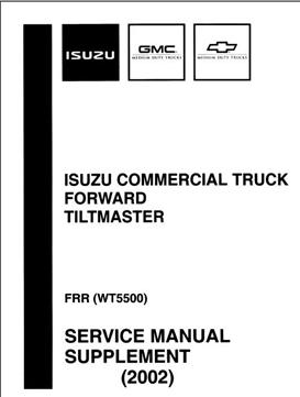 Isuzu Service Manual