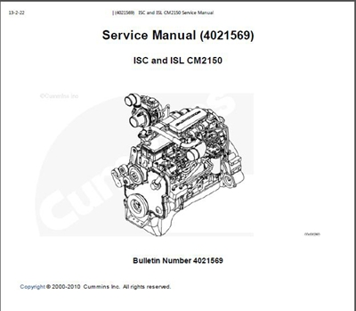 Cummins Service Manual