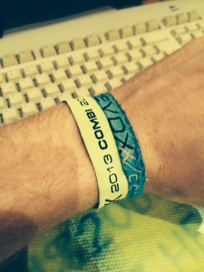 Devoxx wristbands 2012 and 2013