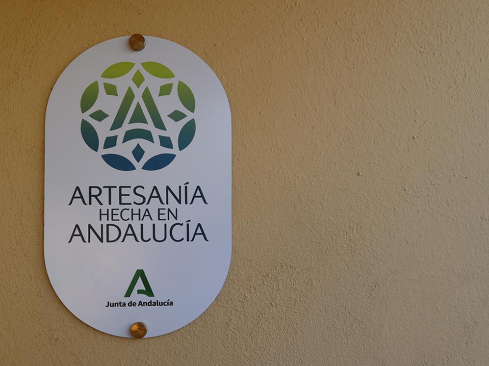 placa artesania hecha en Andalucía
