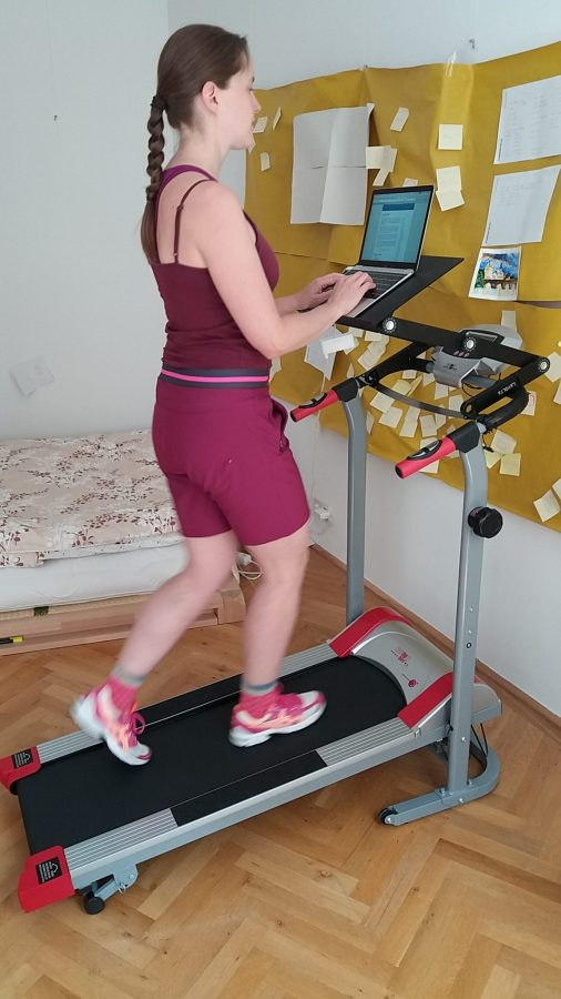 My New Treadmill Desk