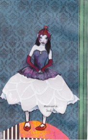 collage illustration princesse